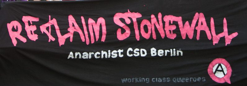 ANARCHIST QUEER PRIDE RALLY 2020  working class queeroes berlin